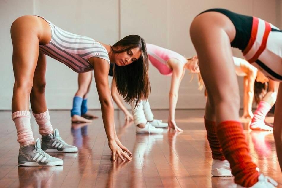 Фото голых танцовщиц на тренировках — 12